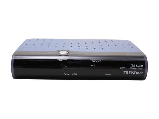 TRENDnet TS-U200 Network Storage Server with Memory Card Reader/Writer