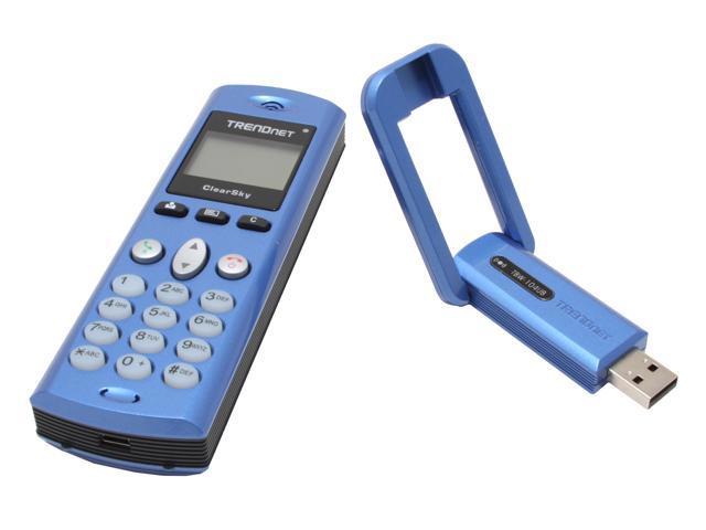 TRENDNET TVP-SP1BK ClearSky Bluetooth VoIP Phone Kit(for Skype)