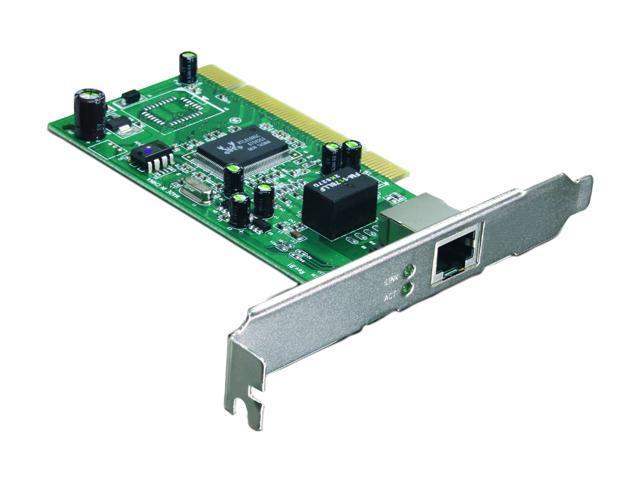 TRENDnet TEG-PCITXR 10/ 100/ 1000/ 2000Mbps PCI Copper Gigabit Network Adapter