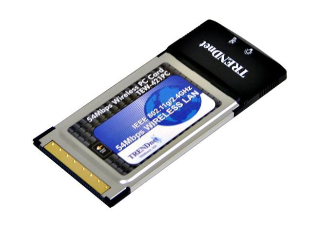 TRENDnet TEW-421PC 802.11g Wireless PC Card