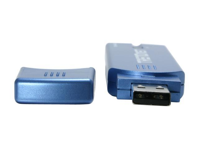 TRENDnet TEW-444UB Wireless Super G Adapter IEEE 802.11b/g USB 2.0 Up to 108Mbps Wireless Data Rates WPA