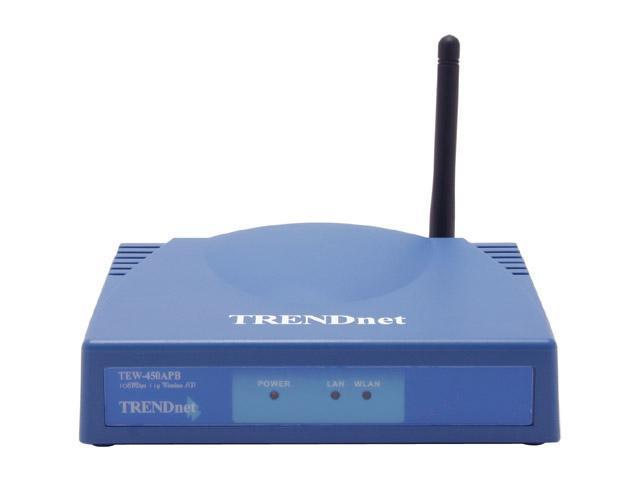 TRENDnet TEW-450APB 108Mbps 802.11g Wireless Access Point