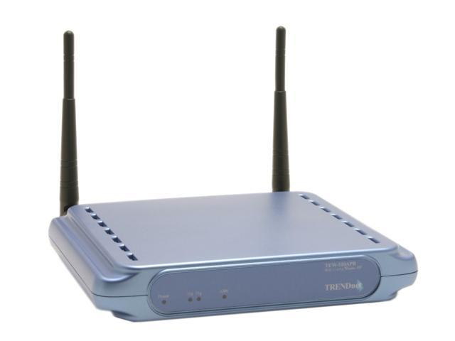 TRENDnet TEW-510APB 108Mbps 802.11a+g Wireless Access Point