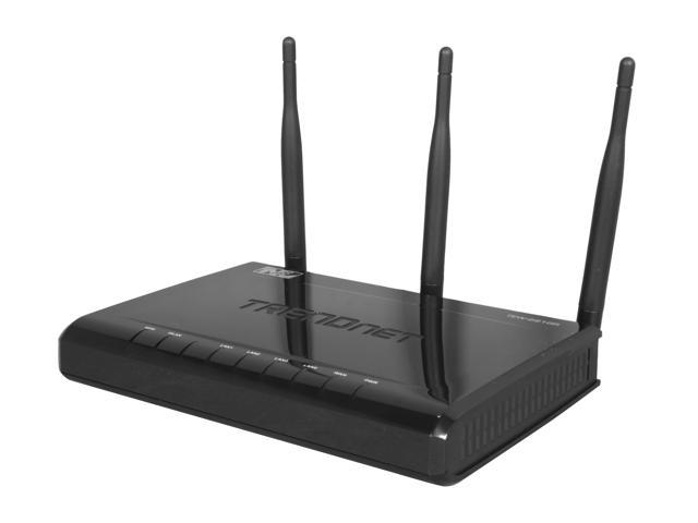 TRENDnet TEW-691GR 2.4GHz N450 Wireless Gigabit Router up to 450Mbps Wireless Technology IEEE 802.11b/g/n