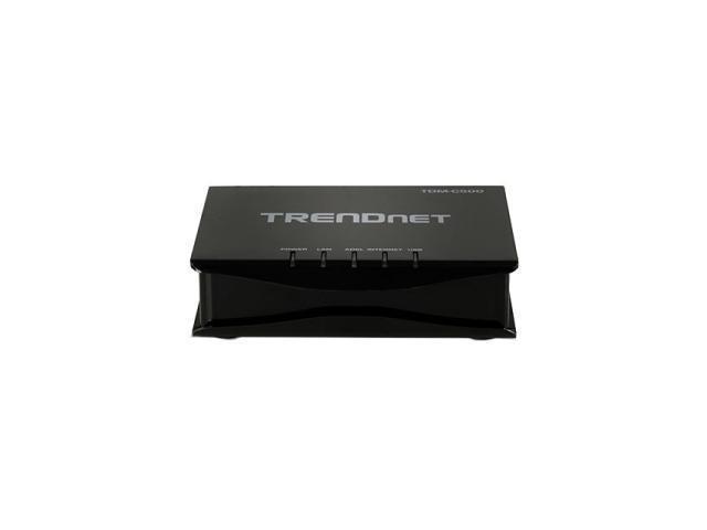 TRENDnet TDM-C500 10/100Mbps ADSL 2/2+ Modem Router
