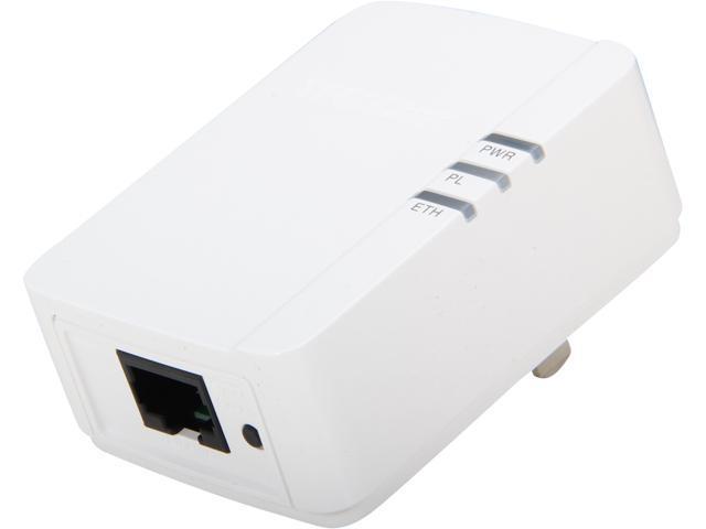 TRENDnet TPL-308E Powerline 200 AV Nano Adapter Up to 200Mbps