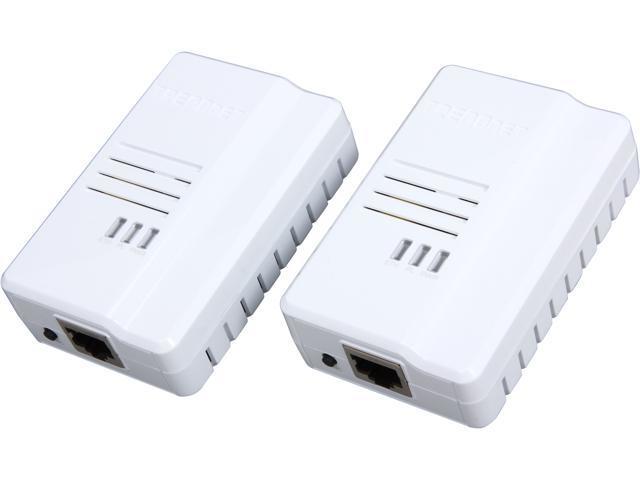 TRENDnet TPL-408E2K Powerline AV2 AV600 Adapter Kit, Up to 600Mbps