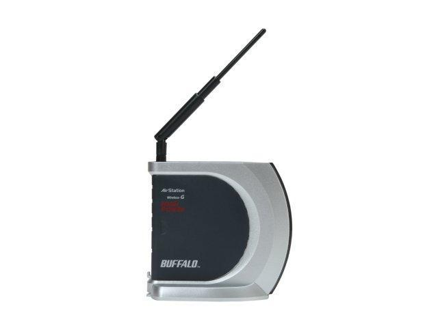 BUFFALO WHR-HP-G54 802.11b/g Wireless-G High Power Router up to 54Mbps/ Open Source DD-WRT Support