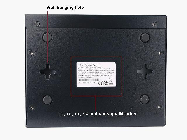 Rosewill RC-408 10/100/1000Mbps Switch