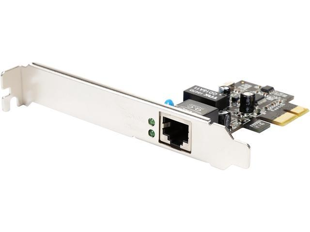 Rosewill RC-411 - Network Adapter 10/100/1000 Mbps PCI-Express 1 x RJ45
