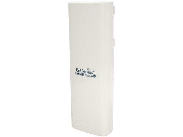 EnGenius ENH200 Long Range 802.11 b/g/n Wireless Client Bridge/Access Point up to 150 Mbps / 500mW High Power for Long Range