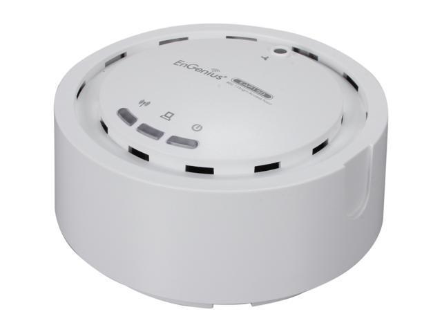 EnGenius EAP150 Business-class High-Power Wireless-N AP and WDS Bridge/AP w/ Smoke Dector Housing & PoE