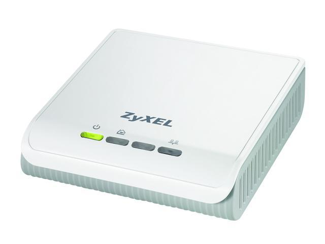 ZyXEL PLA-400 HomePlug AV Powerline Ethernet Adapter Up to 200Mbps