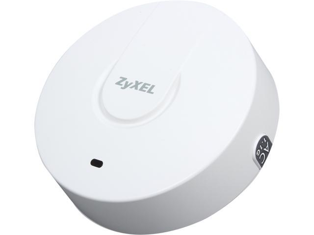 ZyXEL NWA1123-AC Plenum Rated Dual-Radio Ceiling Mount AC1200 Gigabit PoE Access Point (AP)/Repeater