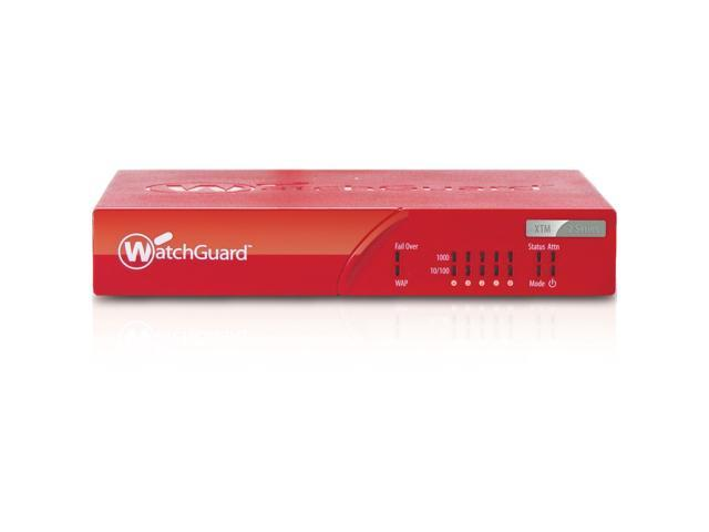 WatchGuard XTM 25 and 1-yr LiveSecurity - WG025001