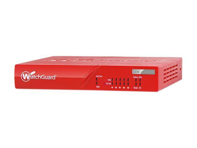 WatchGuard XTM 25 and 1-yr Security Bundle - WG025031