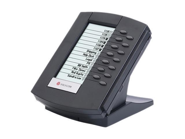 Polycom 2200-12750-025 SoundPoint IP Backlit Expansion Module