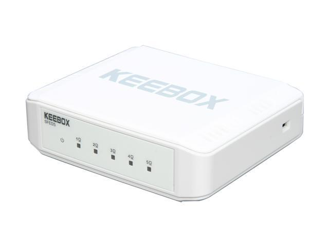 Keebox SFE05 Fast Ethernet Switch