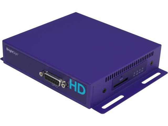 Brightsign HD120 Full HD 1080p Basic Interactive Digital Signage Player