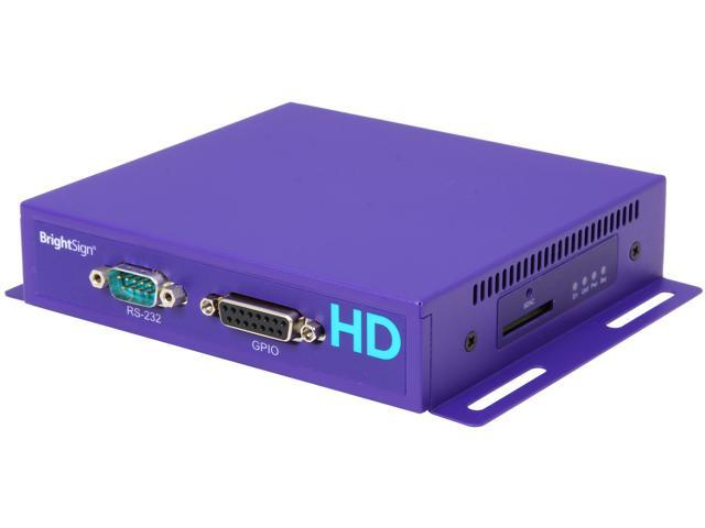 Brightsign HD1020 Full HD 1080p Networked Multi-Control Interactive Digital Signage Media Player