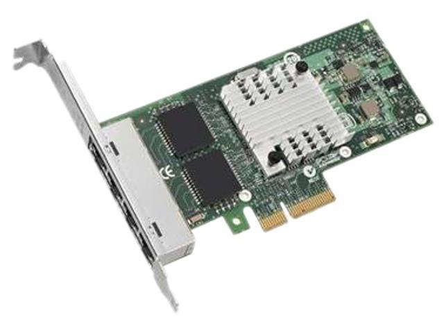 IBM 49Y4240 10/ 100/ 1000Mbps PCI-Express I340-T4 Intel Gigabit Ethernet Quad Port Server Adapter