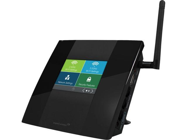 Amped Wireless TAPR2-CA High Power Touch Screen AC750 Wi-Fi Router 802.11a/b/g/n/ac