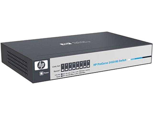HP Smart Buy 1410-8G 8-port Unmanaged Gigabit Switch (J9559AS#ABA)