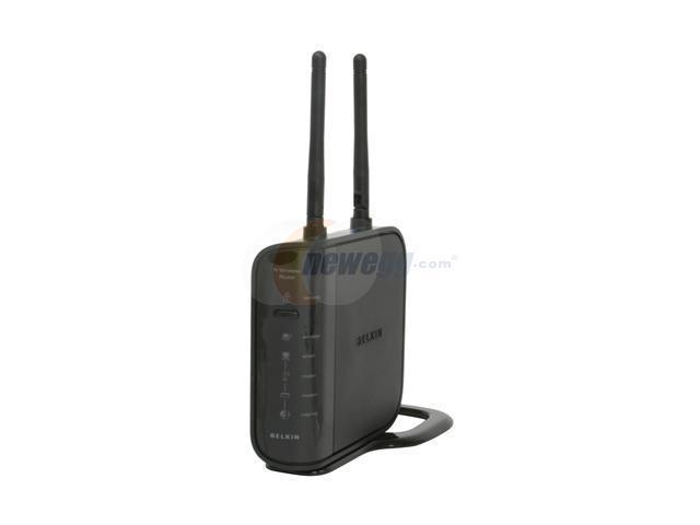 BELKIN F5D8236-4 N Wireless Router IEEE 802.3/3u, IEEE 802.11b/g, IEEE802.11n Draft 2