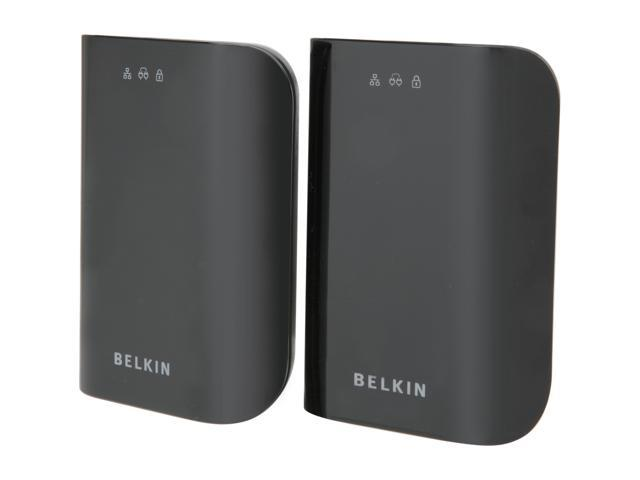 BELKIN F5D4076 Gigabit Powerline HD Starter Kit