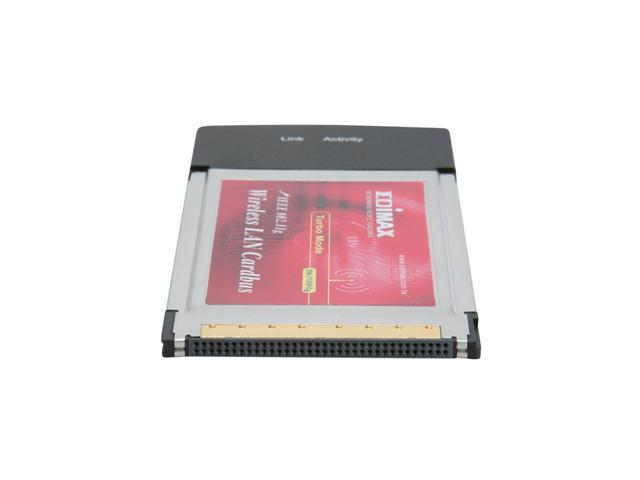 EDIMAX EW-7108PCg 802.11g/b Wireless LAN PC Card