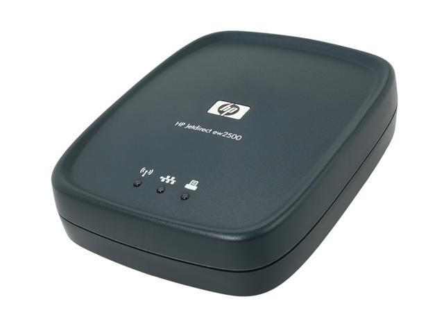 HP J8021A Jetdirect ew2500 802.11b/g Wireless Print Server