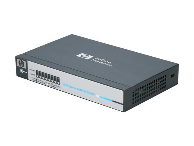 HP J9559A#ABA Unmanaged V1410-8G Ethernet Switch