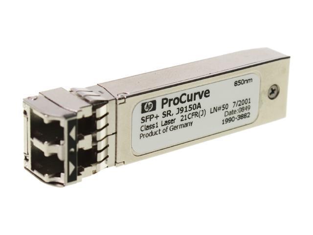 HP J9150A X132 10G SFP+ LC SR Transceiver