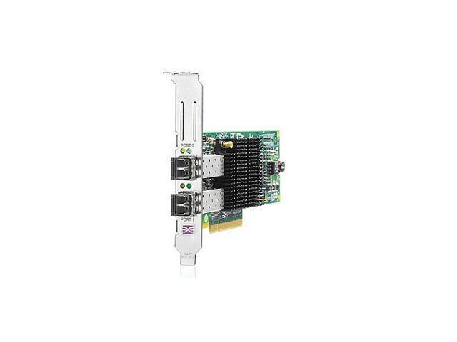 HP AJ763A 8Gbps PCI Express x8 Compaq StorageWorks Dual Port Fibre Channel Host Bus Adapter