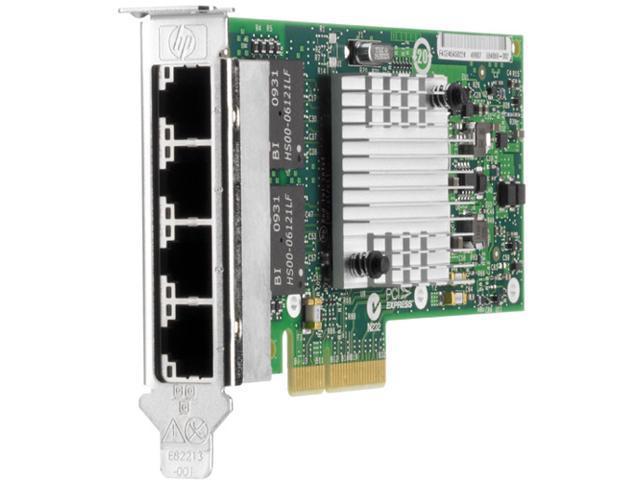 HP 593722-B21 10/ 100/ 1000Mbps PCI Express 2.0 x4 Gigabit Ethernet Card