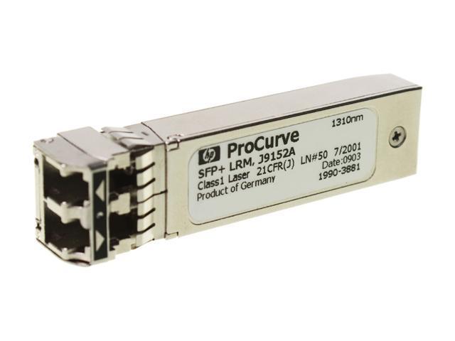 HP J9152A X132 10G SFP+ LC LRM Transceiver