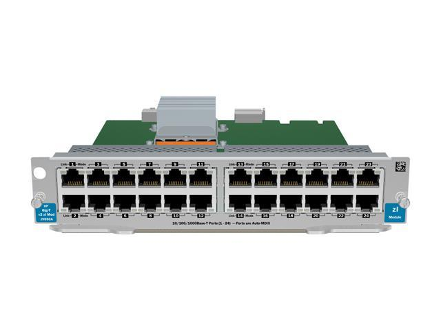 HP J9550A 24-port Gig-T v2 zl Switch Module