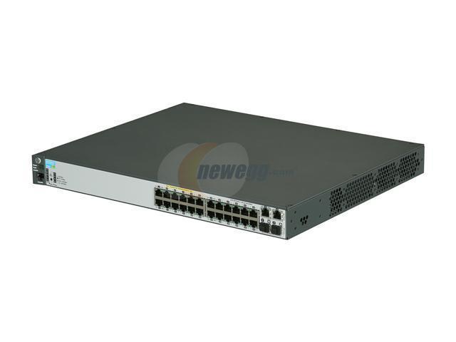 HP J9625A#ABA Managed 2620-24-PoE+ Switch