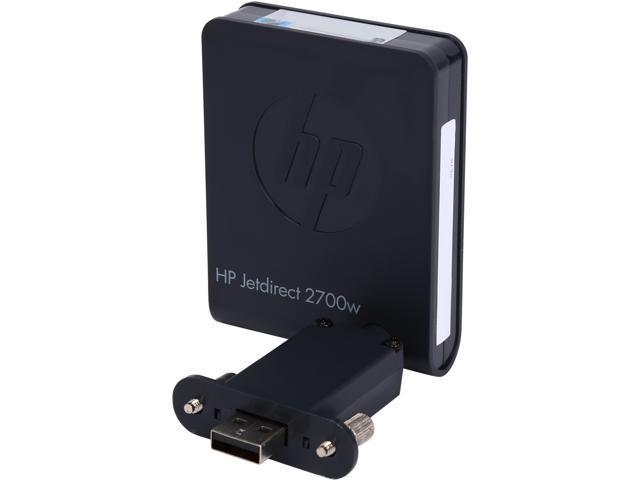 HP Jetdirect 2700w J8026A Wireless Print Server