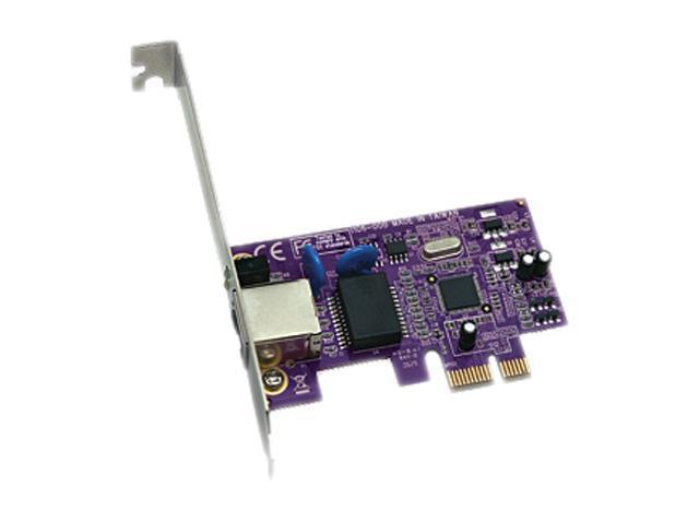 SoNNeT GE1000LA-E 10/ 100/ 1000Mbps PCI-Express Presto Gigabit Ethernet Pro PCIE Card 1-Port Req OSX 10.5+