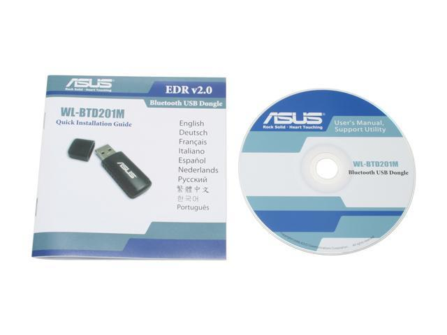 ASUS WL-BTD201M Bluetooth Dongle USB 2.0