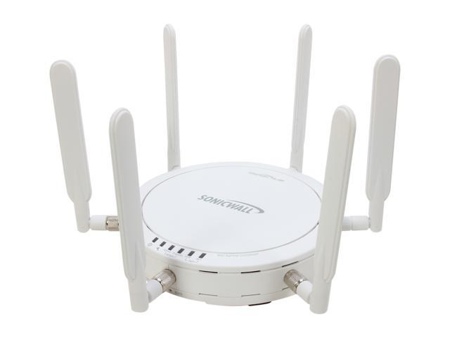 SonicWALL 01-SSC-9289 SonicPoint-N Dual-Radio Wireless AP with PoE Injector