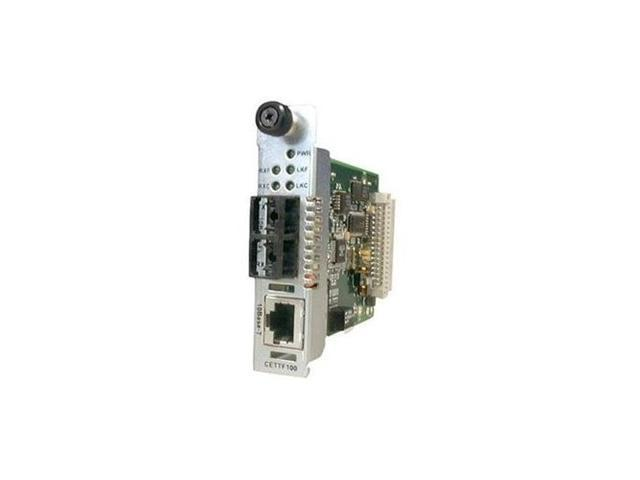 TRANSITION CETTF1011-105 Point System Slide-In-Module Media Converter