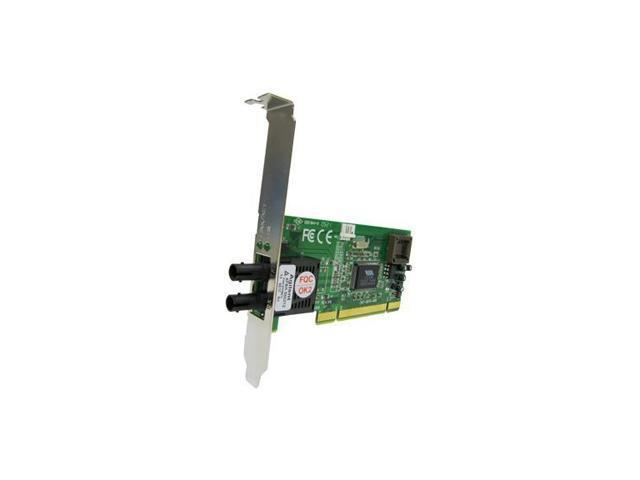 Transition Networks N-FX-SC-02F 100Mbps PCI Ethernet Adapter