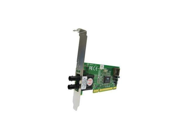 Transition Networks N-FX-LC-02F 10/100Mbps PCI 100BASE-FX Network Interface Card - Low-profile