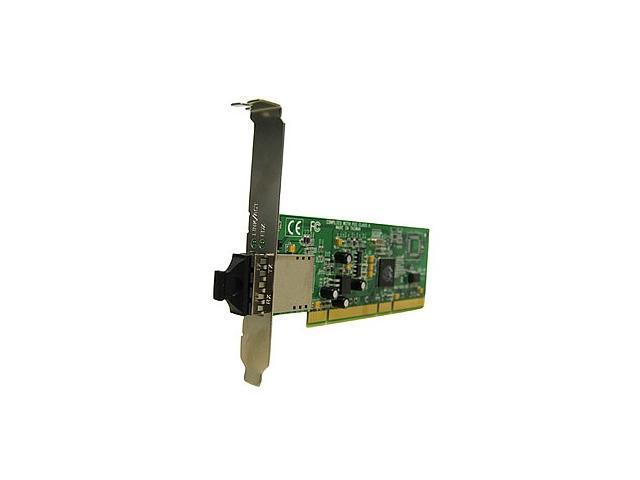 Transition Networks N-GSX-LC-02 PCI Fiber Optic Gigabit Ethernet Network Interface Card