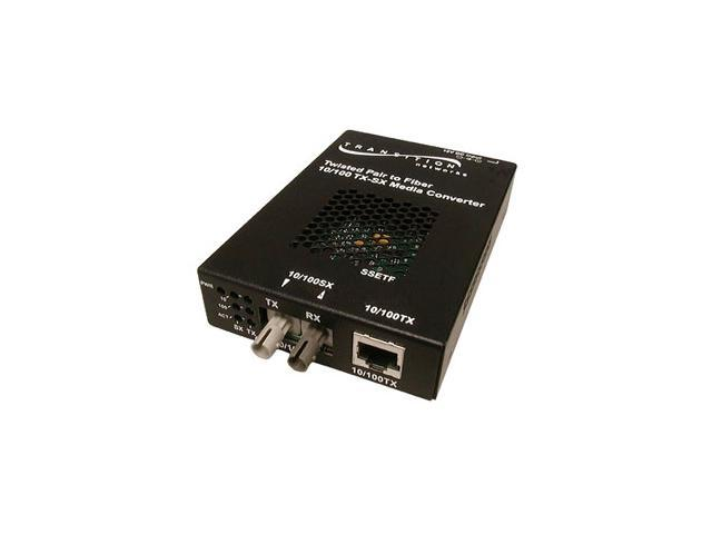 TRANSITION SSETF1013-205-NA RJ-45 To SC Media Converter