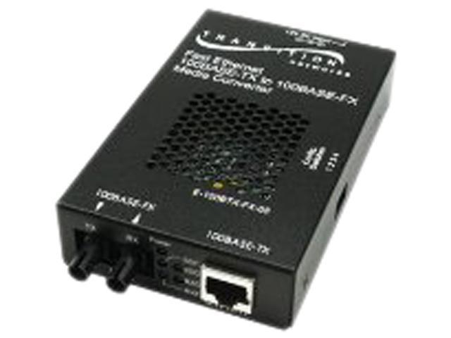 TRANSITION E-100BTX-FX-05(LH) Transceiver