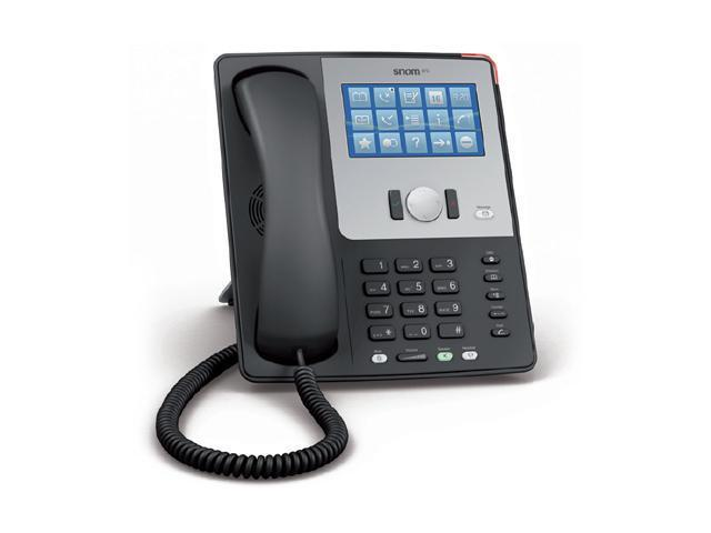 snom SNOM870BLACK Touchscreen IP Phone