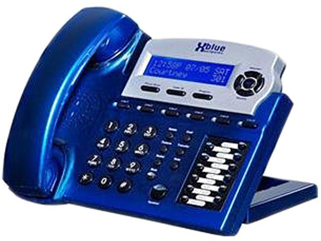 Xblue XB-1670-92 X16 Small Office Telephone - Vivid Blue